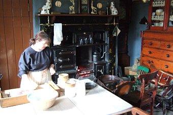 Beamish Museum niedaleko Newcastle - epoka Wiktoriańska Anglia Wielka Brytania