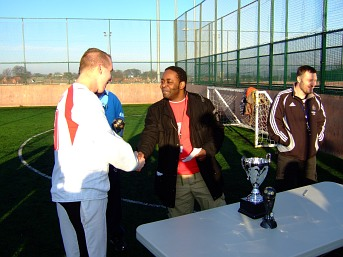 Cohesion Sport Day - part 4 - Trophies for the champions!