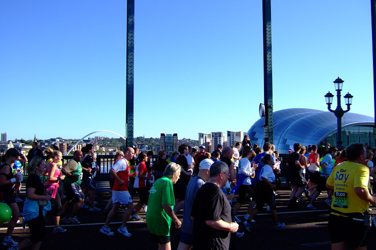 Great North Run 2008 NEWCASTLE