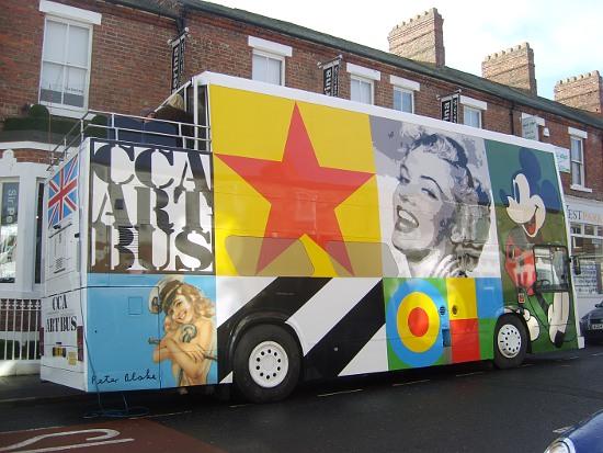 Magiczny autobus w Darlington