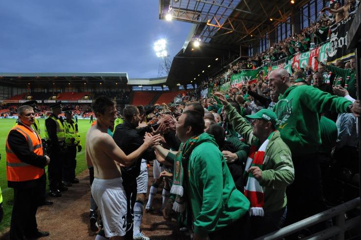 Dundee Utd. - Śląsk Wrocław 3:2