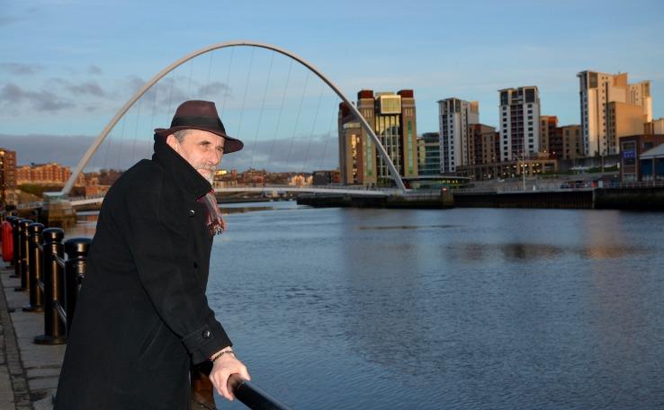Wiesław B. Bołtryk w Newcastle