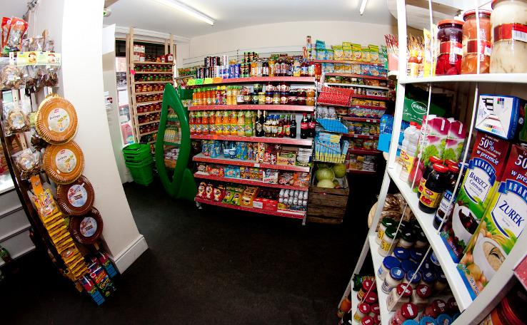 Polski sklep w Hartlepool