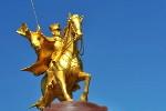 """""""Złoty Ułan jest pierwszym pomnikiem w Europie, który postawiłem by uczcić pamięć mojego ojca."""""""